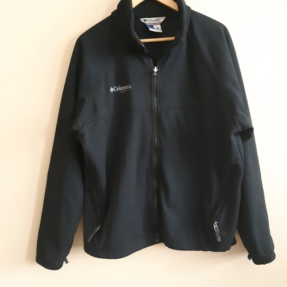 COLUMBIA  mens black warm core jacket